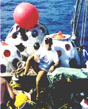 Photo Of Atlantis Submarine Deploying Reef Balls
